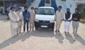 Secret Donar donated Maruti Eco car in Gurdwara Sohana